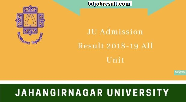 Jahangirnagar University Admission Result
