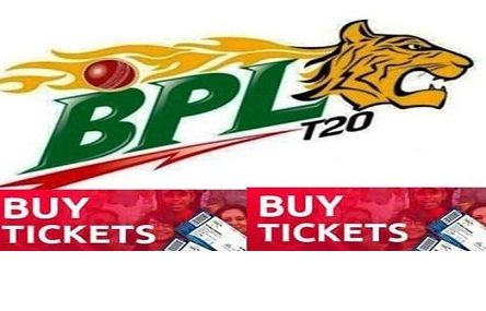 BPL T20 Ticket Buy Online From Shohoz com