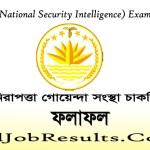 NSI Exam Result 2020
