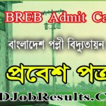 BREB Admit Card 2021