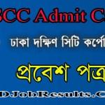 DSCC Admit Card 2021