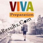 Viva Exam Preparation 2021