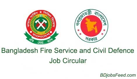 Bangladesh Fire Service and Civil Defence Job Circular