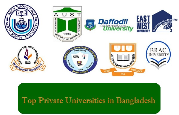 Top 10 Private Universities Ranking in Bangladesh