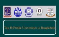 Top 10 Public Universities list in Bangladesh