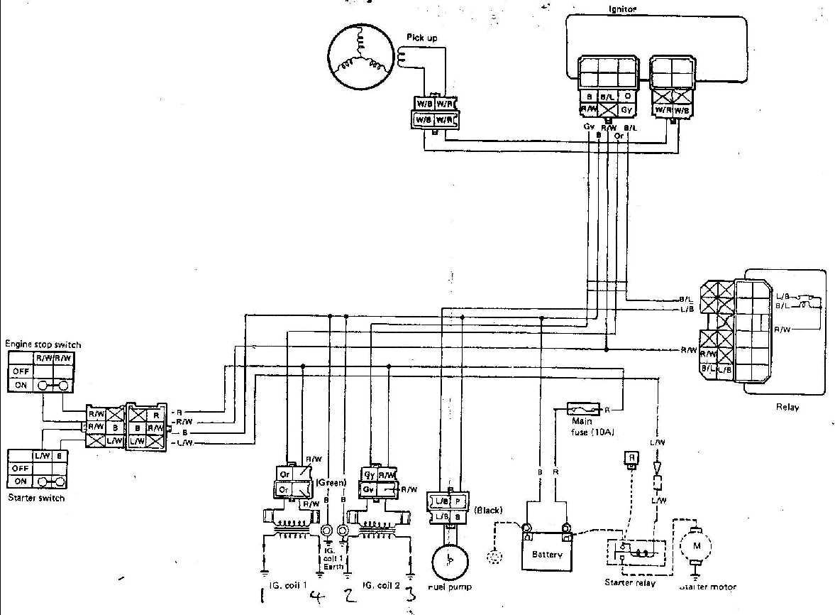 Ignition For Yamaha Fzr400rrsp