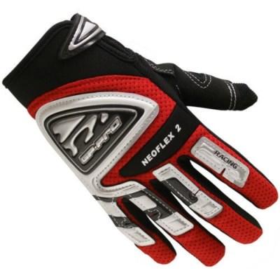 Bike It GP-Pro Neoflex-2 Motocross Gloves Red