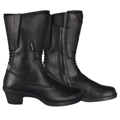 Oxford Valkyrie Ladies Motorcycle Boots Black New