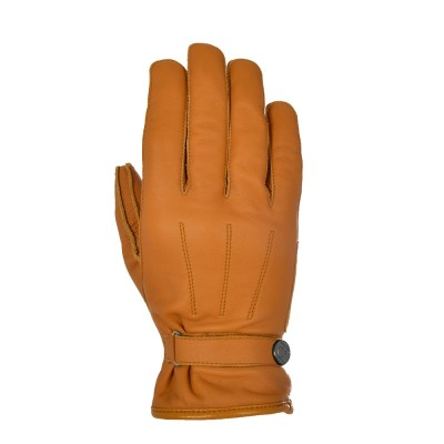 Oxford Holton Motorcycle Leather Gloves Tan