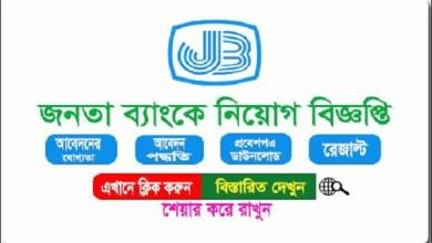 Janata Bank Job Circular