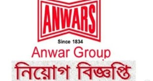 Anwar Group Job Circular 2019