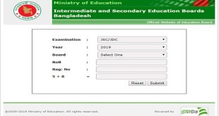 JSC Result 2019 With Marksheet-www.educationboardresult.com