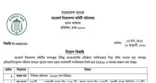 Combined 7 Bank Senior Officer Job Circular 2020