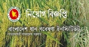 Bangladesh Rice Research Institute [BRRI] Job Circular 2020