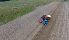 Images captured by Raptor Maps' drones are combined with computer data taken in the field to provide farmers with real-time crop analysis.