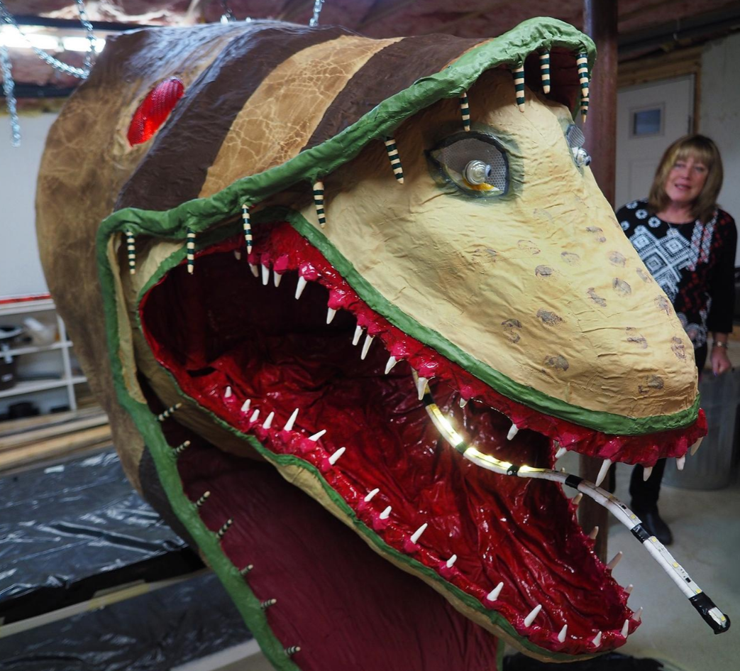 Handmade 30 Foot Beetlejuice Monster To Invade Nh Parade