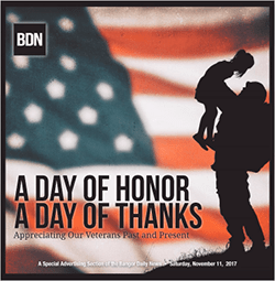 BDN Veterans Day special section 2017