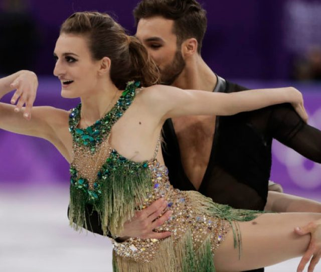 Major Olympic Wardrobe Malfunction Strikes During Ice Dancers Short Program