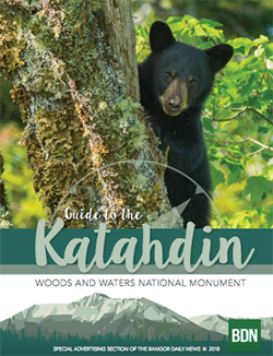 2018 Guide to Katahdin Woods and Water National Monument