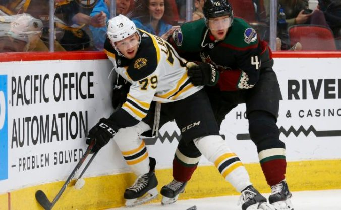Image result for bruins coyotes