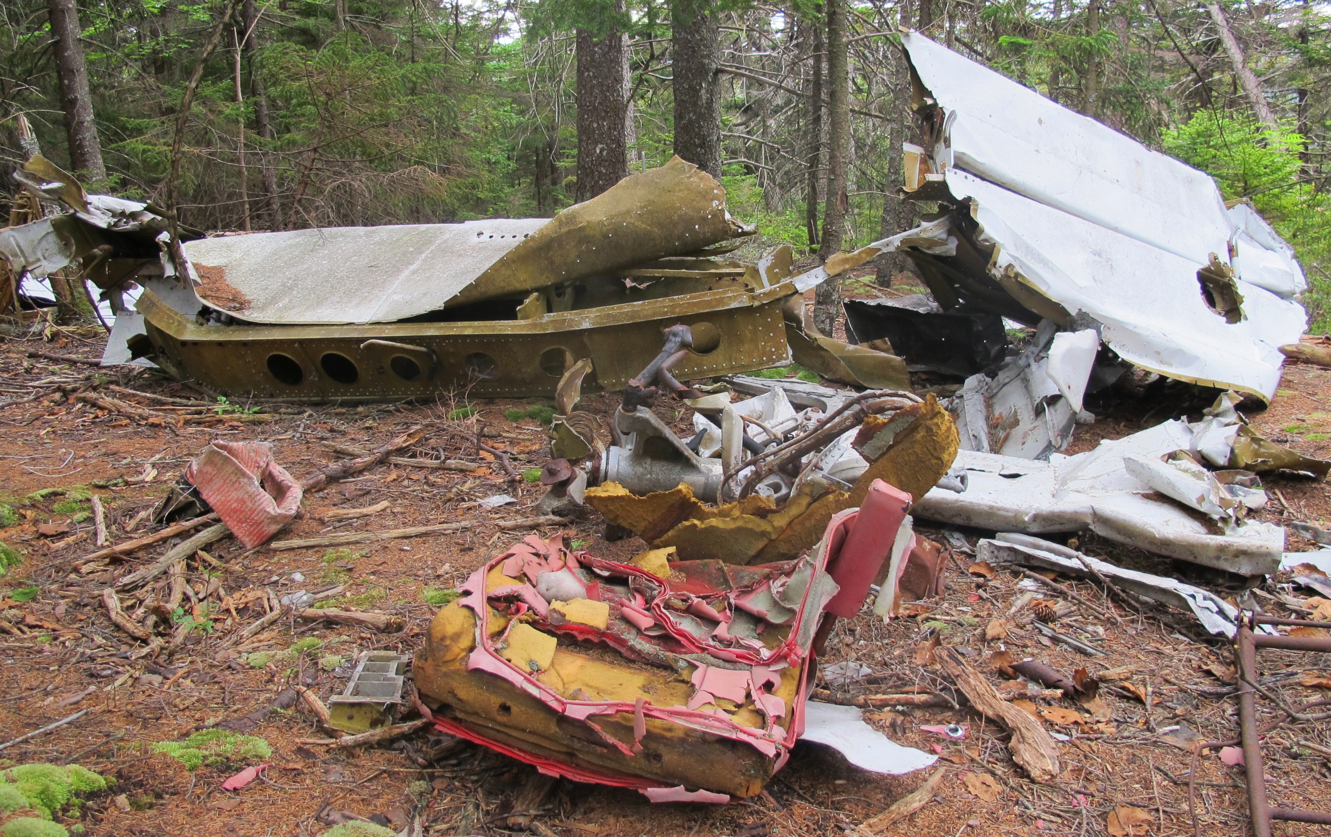 The Wreckage Of A Deadly Plane Crash In 1970 Has Become An Unofficial Attraction At Acadia National Park