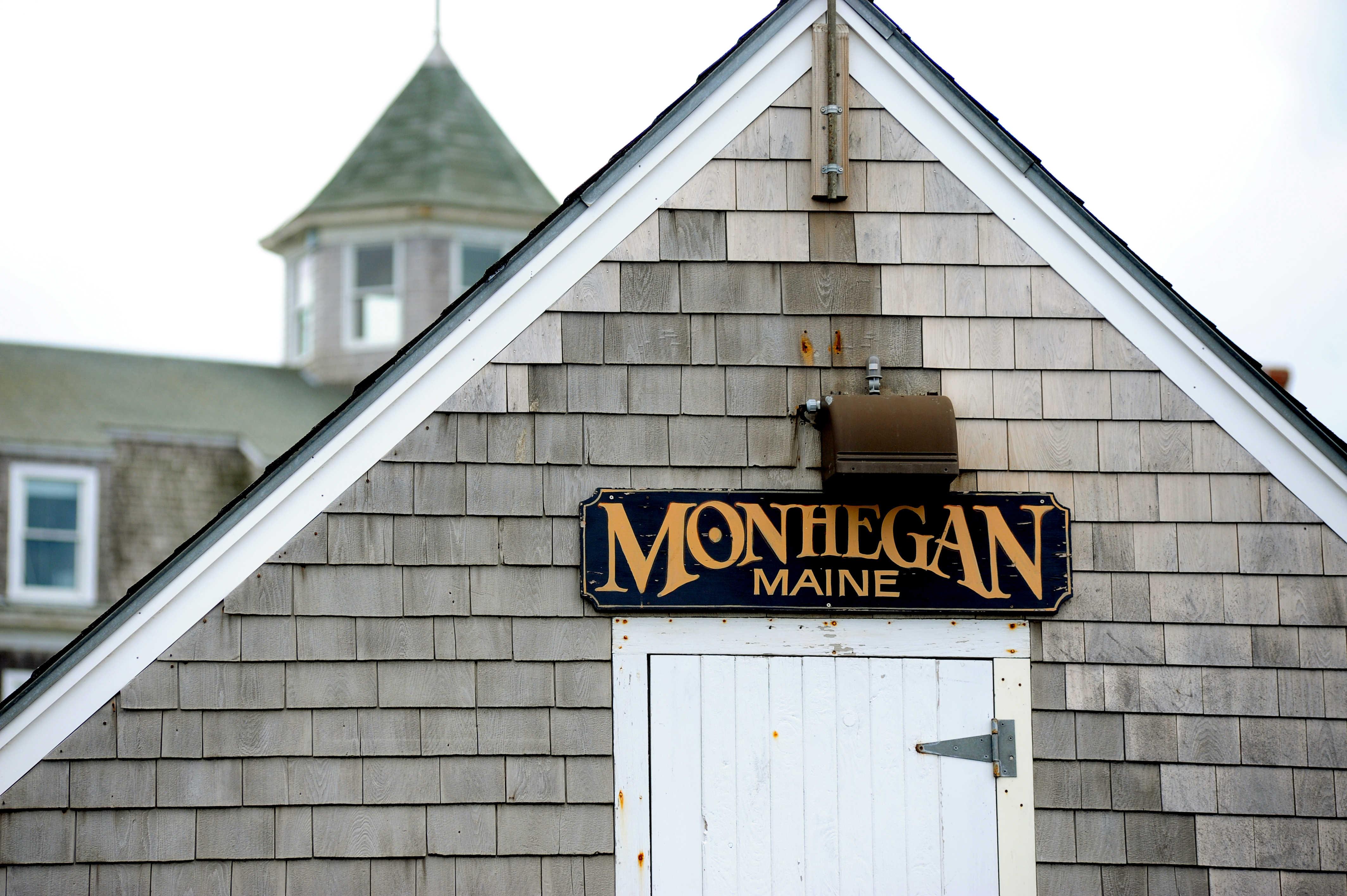 Monhegan Lighthouse architecture,watercolor,print Monhegan Island New England Maine