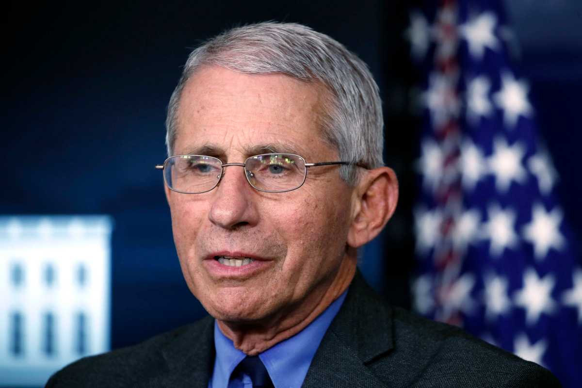 Anthony Fauci: 'We're not there yet' on key steps to reopen ...