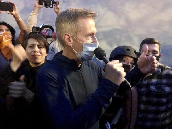 Federal agents tear gassed mayor of Portland, Oregon