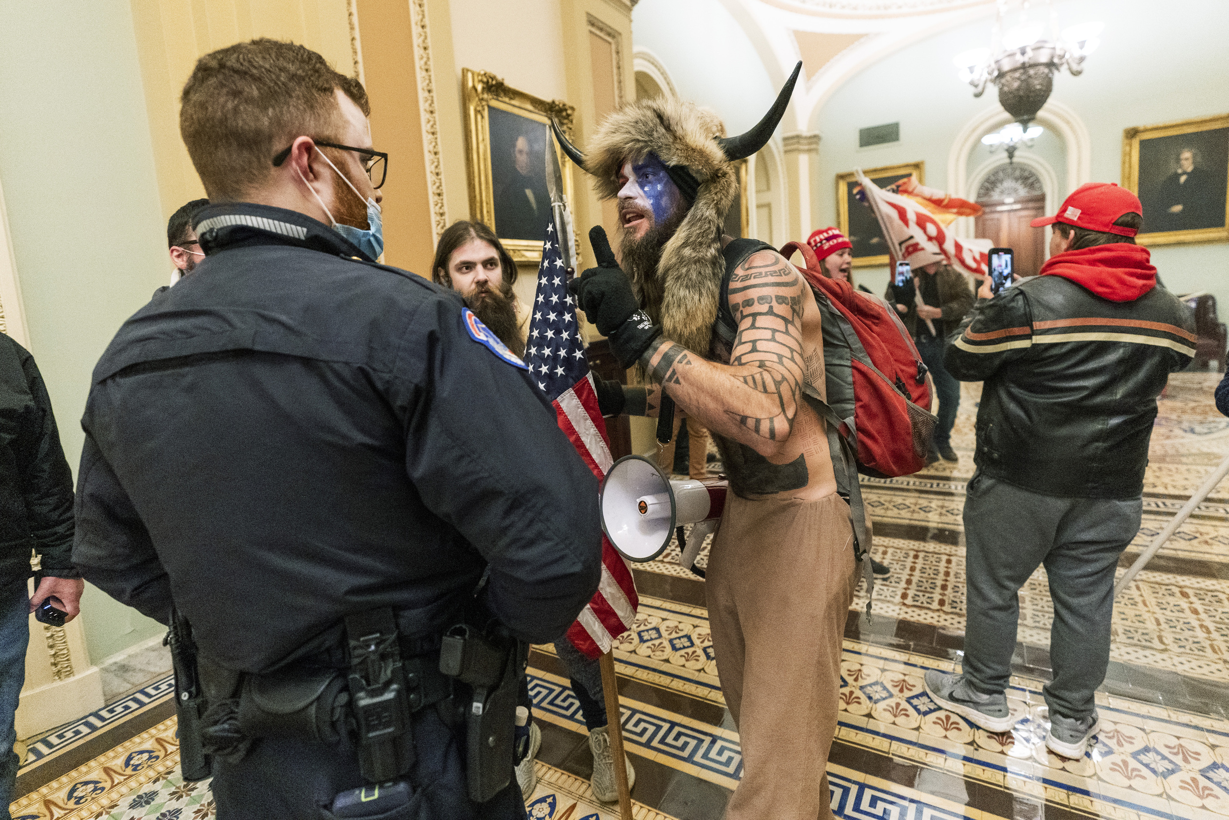 Records show fervent Trump fans fueled Capitol takeover