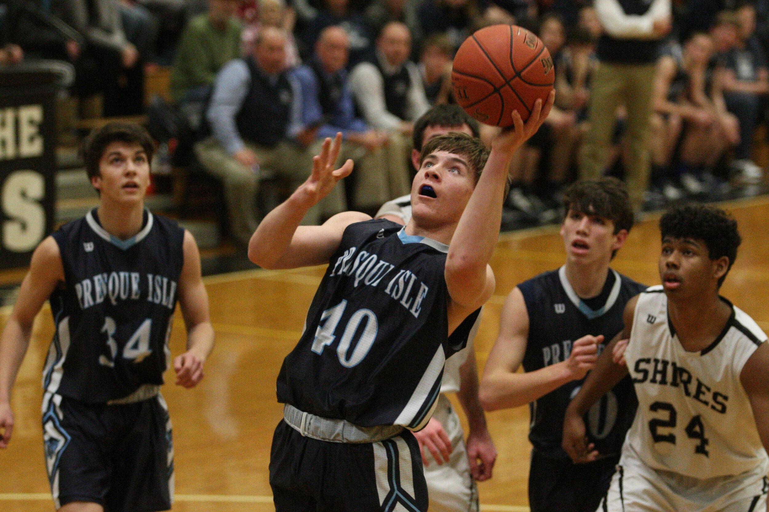 Presque Isle boys basketball team seeks to build...