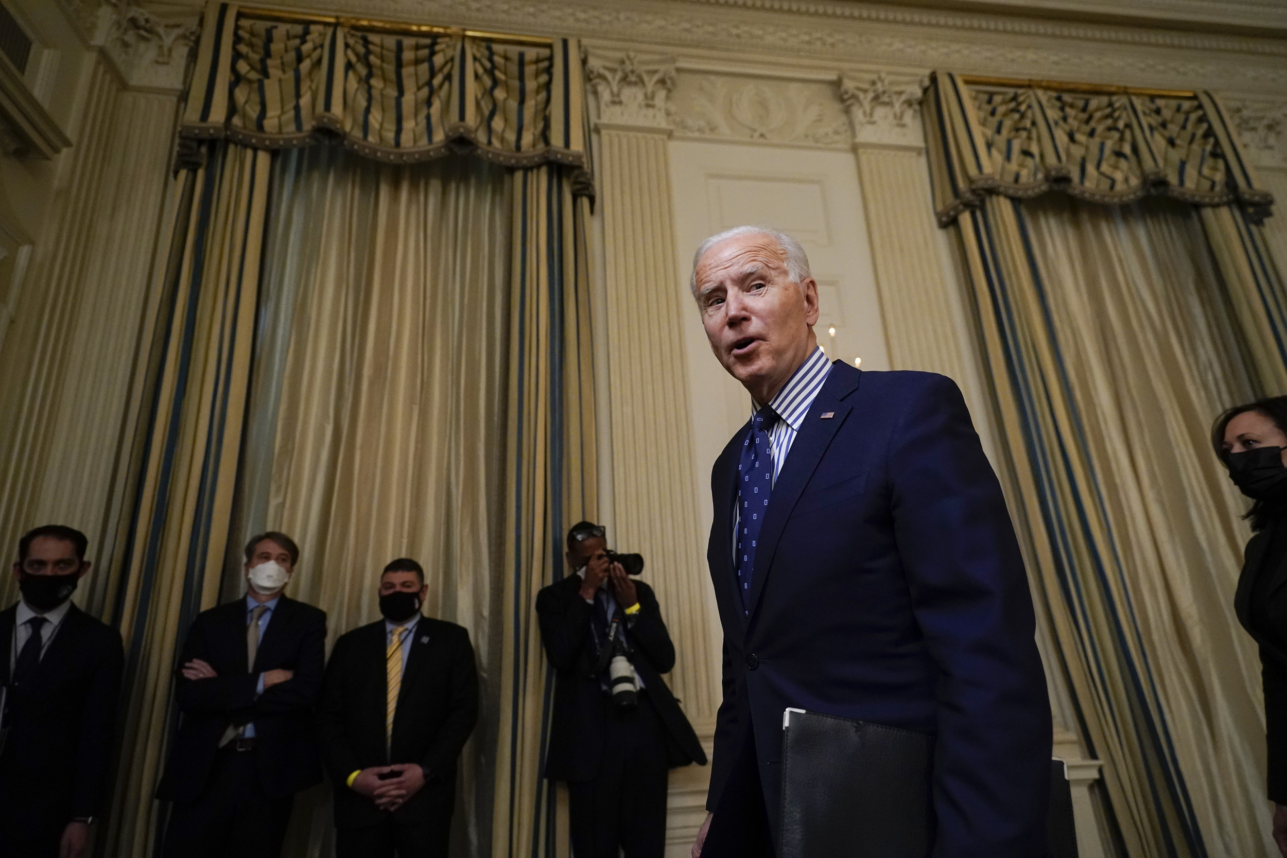 The fallout in Maine as Joe Biden's relief bill nears the finish line