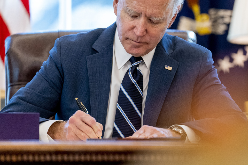 Watch live: Biden addresses the nation at one-year mark of pandemic