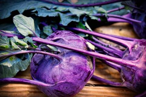 Kohlrabi looks weird, but it's easy to grow, lasts forever and tastes great