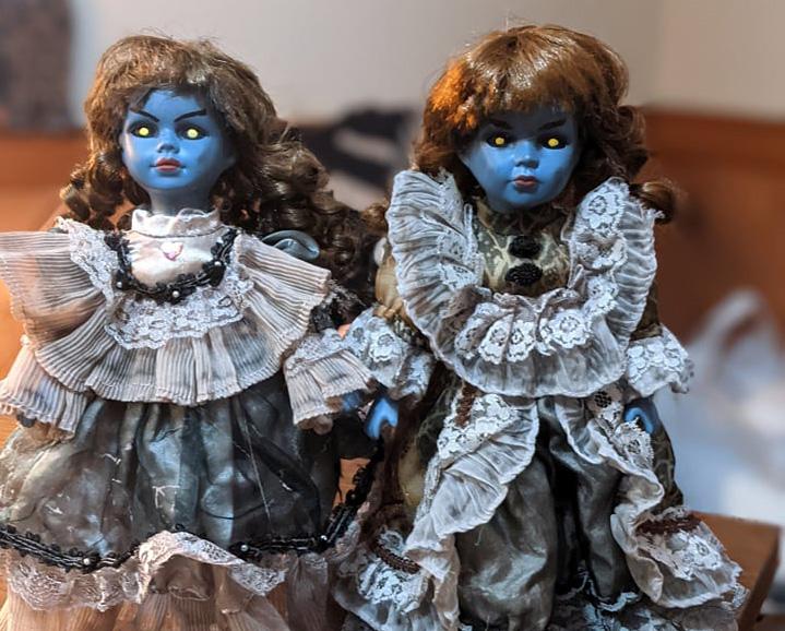 Bangor artist created demonic dollhouses as 'pandemic mental health project'