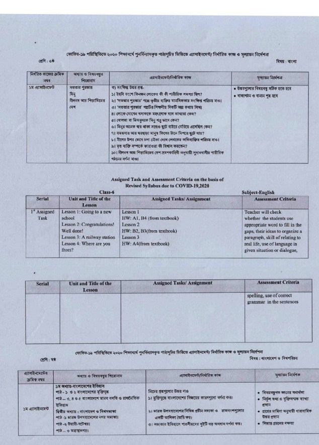 class-6-assigment-syllabus