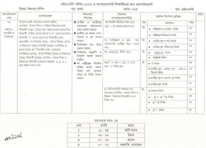 hsc-2022-5th-week-assignment-answer