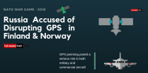 Russia 🇷🇺 Accused of Disrupting GPS 🛰 System in Finland 🇫🇮 & Norway