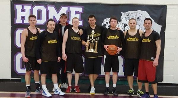 Beezkneez Sr. Mens Basketball Champions | bdnmb.ca Brandon MB