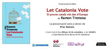 150914Presentacio LET CATALONIA VOTE Badalona