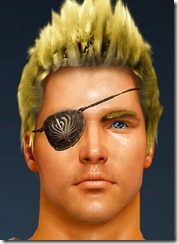 Barrack Eye Patch Front