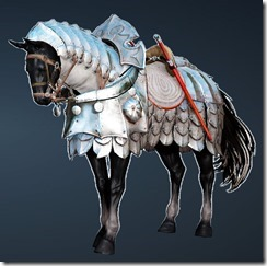 Calpheon Chargers' Horse Barding