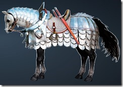 Calpheon Chargers' Horse Full Set Side