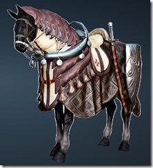 Commander's Horse Barding