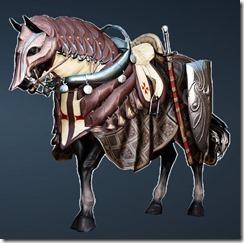 Commander's Horse Full Set Front