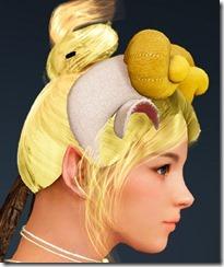 Cozy Fleeced Hat Side Female