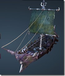 Dark Thorn Fishing Boat Front