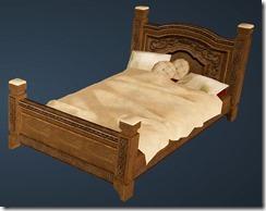 Fleece Bed Front