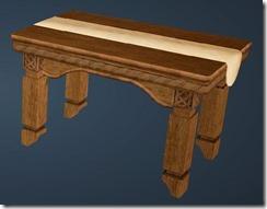 Fleece Table Front