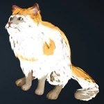[Tier 1] Orange Brindle Cat