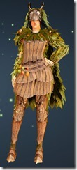 Treant Camouflage - Sorceress Front